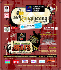 8th Rongtheang Fest & 2nd Karbi Anglong Beats, 2010