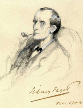 Sherlock Holmes by Paget