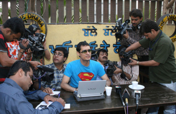 Dale Bhagwagar holds a Press Conference in Mumbai to defend Shilpa Shetty while she is in Celebrity Big Brother