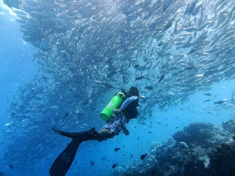 Scuba diving in the land of the historic sultans