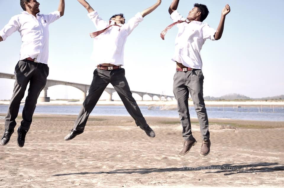 Up in the air Photo by Pratyush Paras Sarma