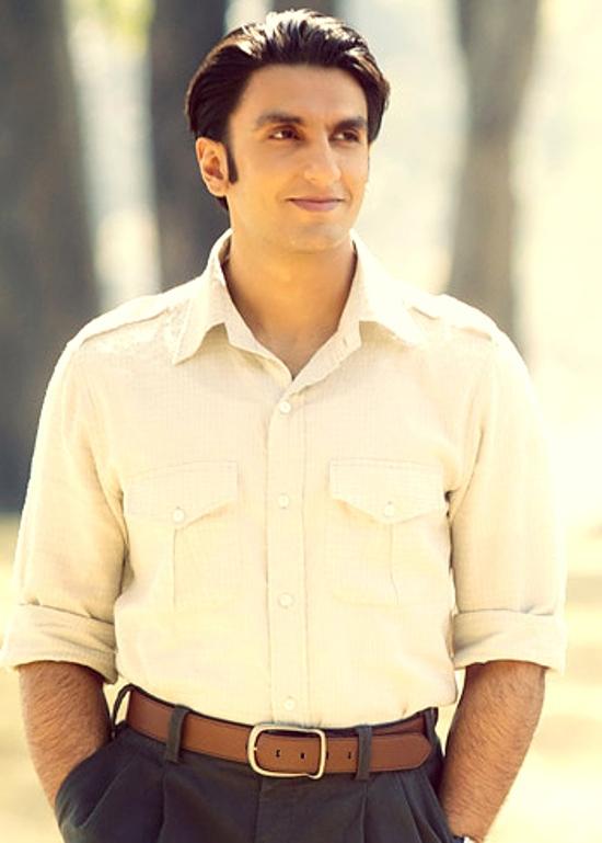 Looking up: Ranveer Singh