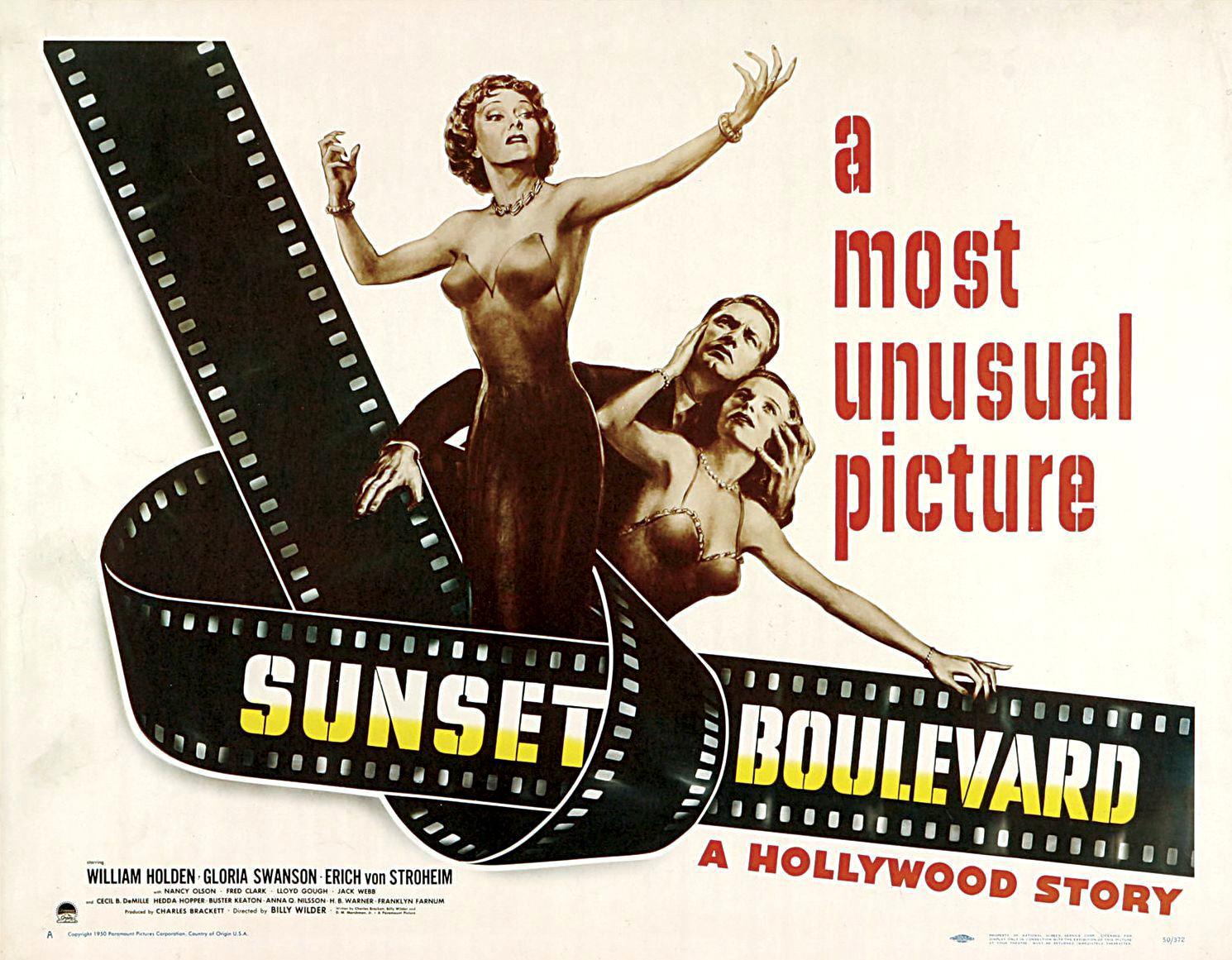 A short note – Sunset Boulevard [1950]