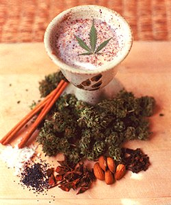 bhang or marijuana milk