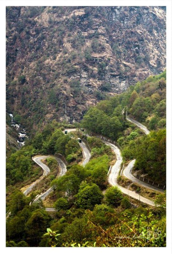 In between Jaswant Garh & Jang, Tawang District, Arunachal Pradesh