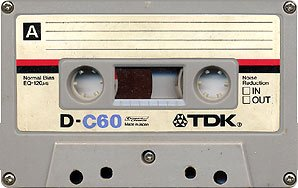 Tdkc60cassette