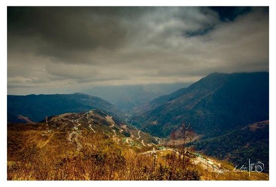in between Baishakhi and Dirang, Tawang District, Arunachal Pradesh
