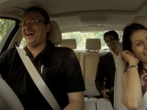 The best test drive ever- BMW!