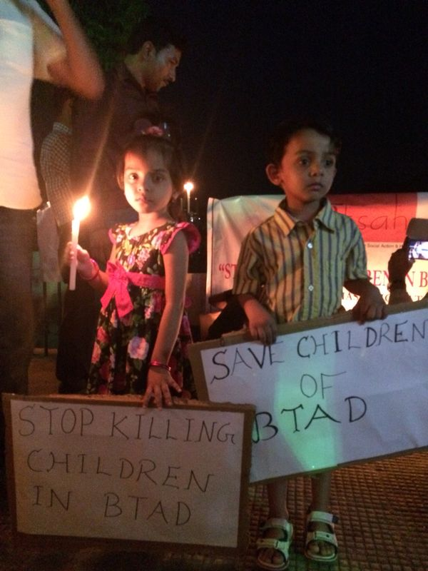An attempt to help violence hit kids in BTAD