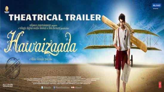 Trailer: Hawaizaada Theatrical Trailer | Ayushmann Khurrana,Pallavi Sharda, Mithun Chakraborty |