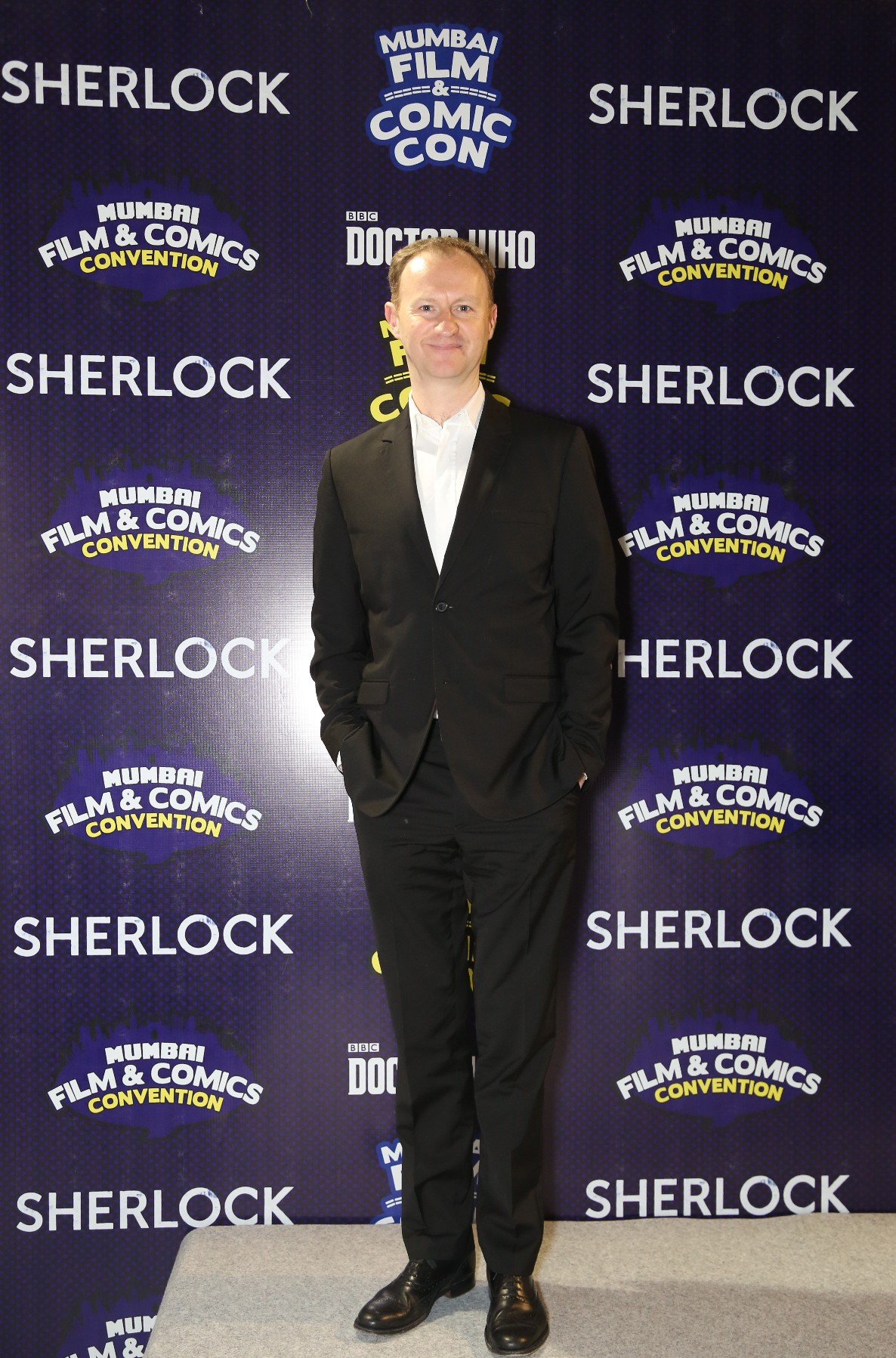 Getting Sherlock-ed, at Comic Con Mumbai