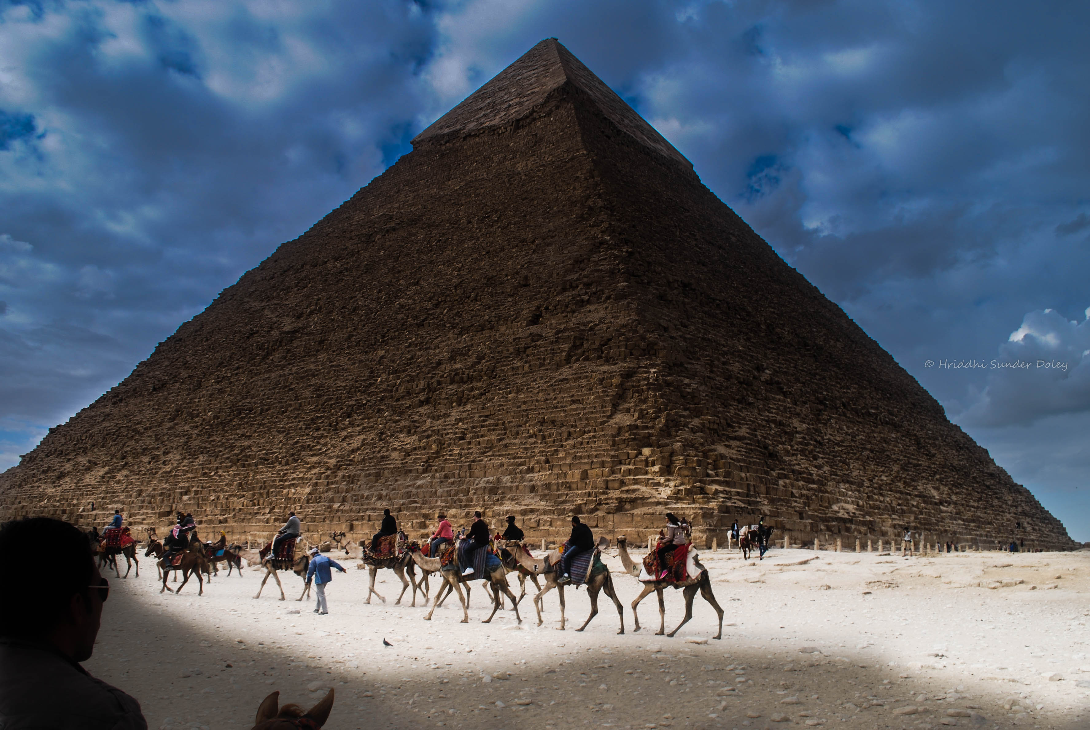 A trip to the pyramids of Egypt