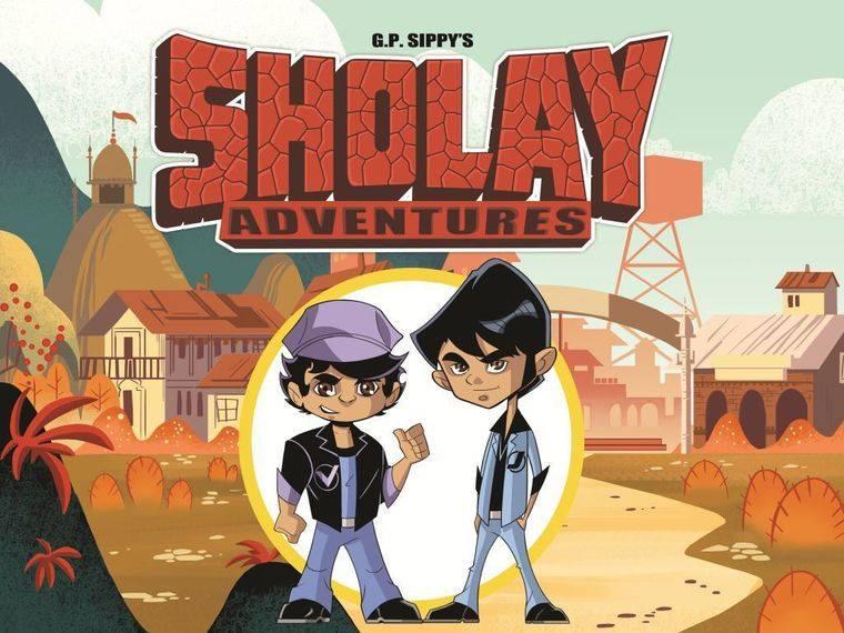 Teaser: Sholay Adventures | Animation |