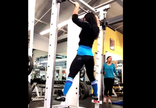 Video: Amazing work-out by Marisa Inda