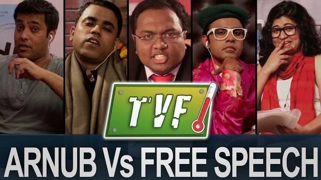 Video: Arnub Vs. Free Speech  | Newshour |