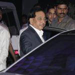 Narayan Rane at Rahul Thackeray-Dr.Aditi Thackeray's reception at Hotel Sahara Star