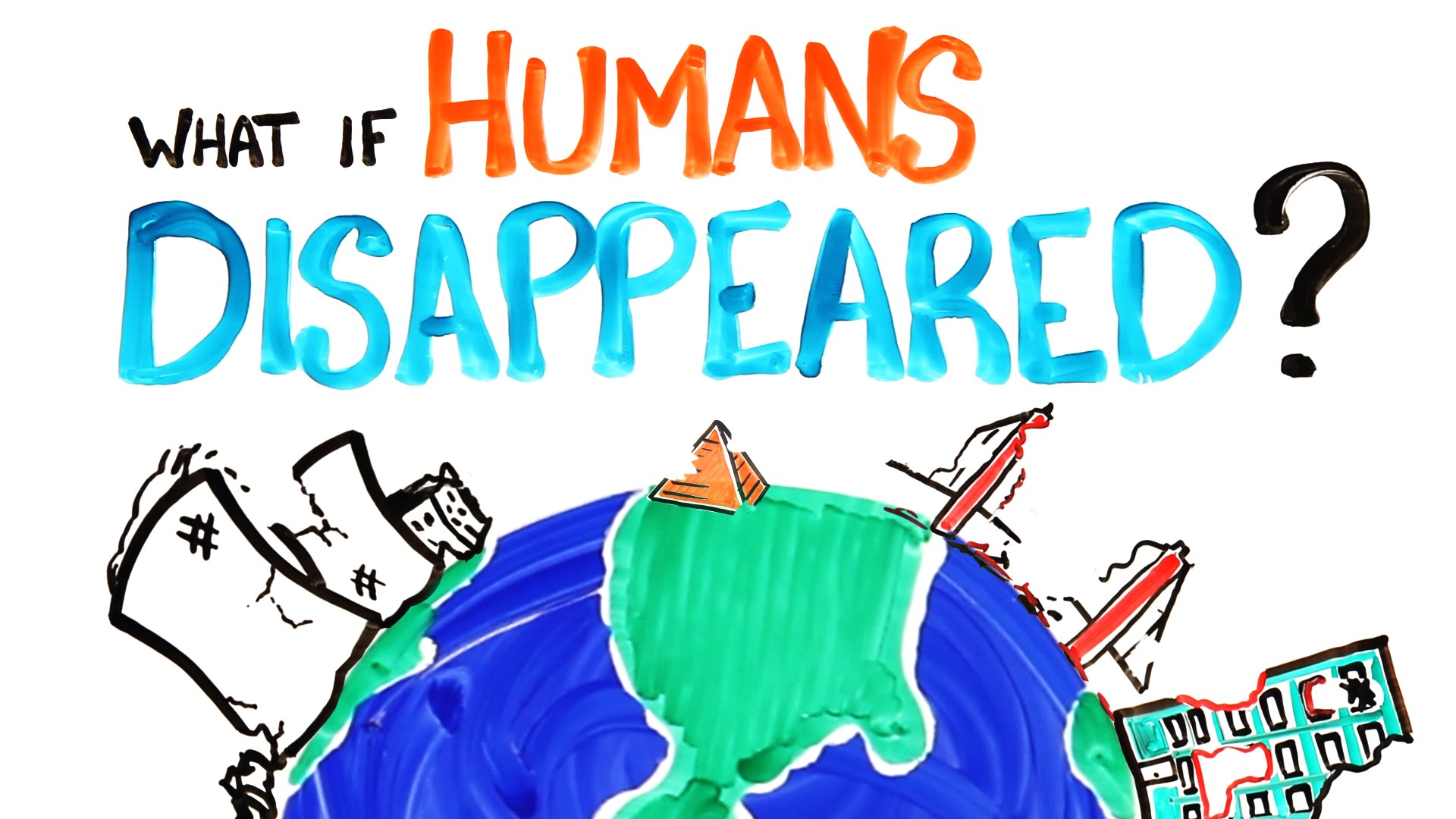Video: What happens if human beings disappear from earth?
