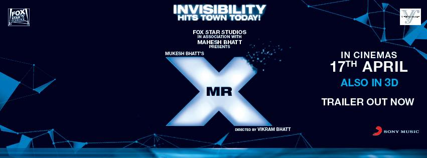 Trailer: Mr X | Emraan Hashmi, Amyra Dastur, VIkram Bhatt |