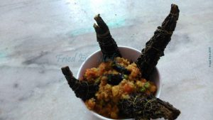 The keema-stuffed karela 2