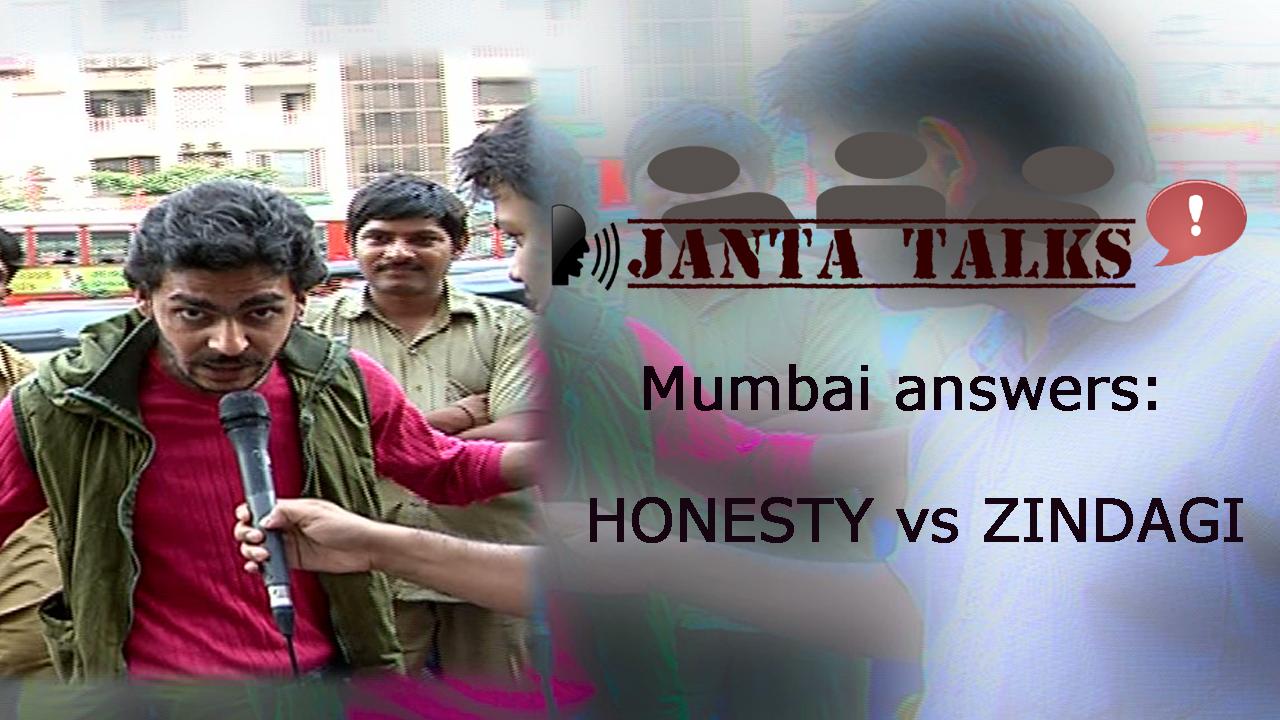 Video: Mumbai on honesty vs life