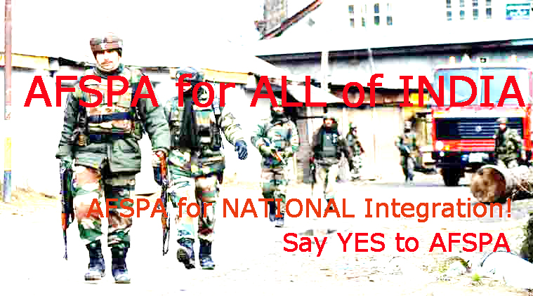 AFSPA satire - for national peace
