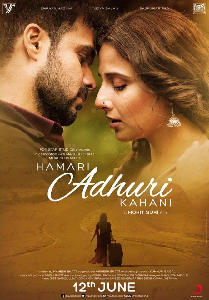 Trailer: Hamari Adhuri Kahani | Emraan Hashmi, Vidya Balan, Rajkummar Rao, Mohit Suri, Mahesh Bhatt |