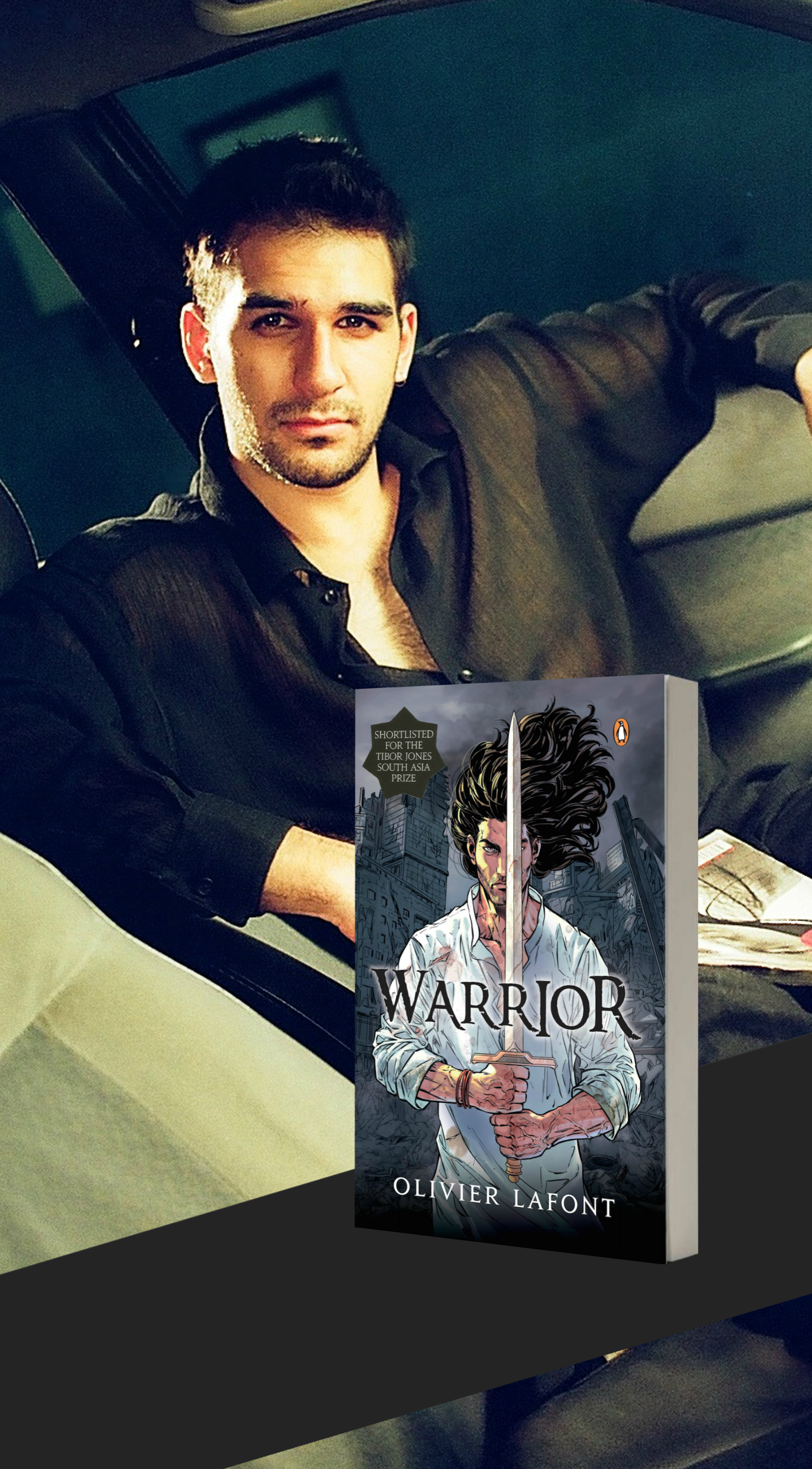 Taking on Shiva: An Interview with model turned author Olivier Lafont