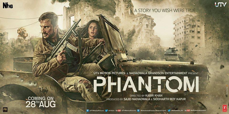 Review: Phantom | Saif Ali Khan, Katrina Kaif, Kabir Khan |