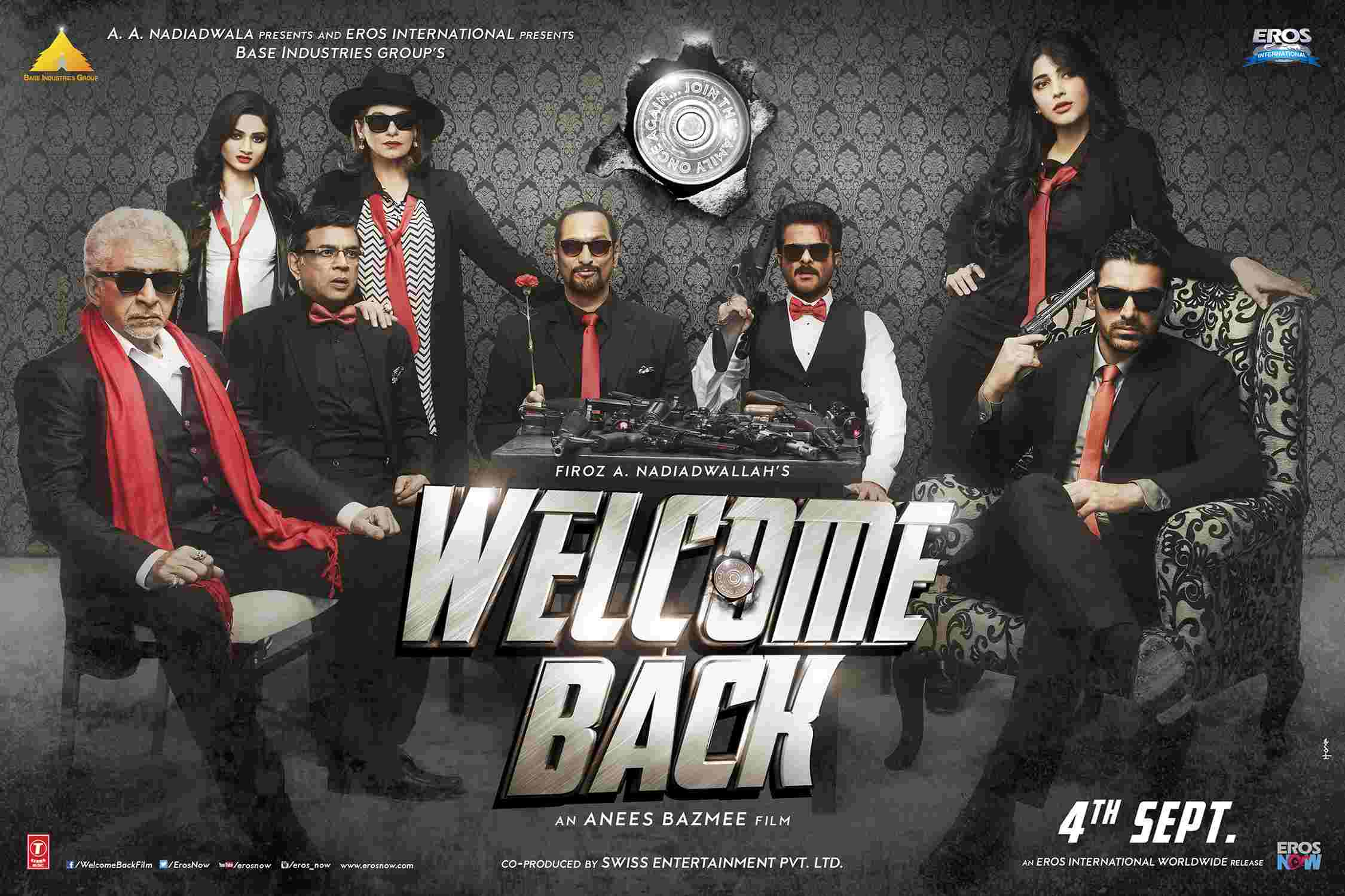 Movie review: Welcome Back | stupidity promised, delivered |