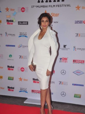 Lisa Ray at MAMI Film Festival Day 1