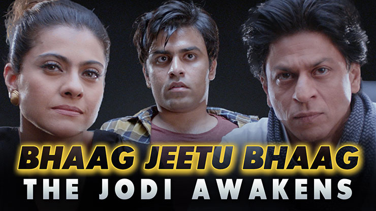 Bhaag Jeetu Bhaag  This TVF spoof on Shah Rukh Khan & Kajol will leave you in splits  