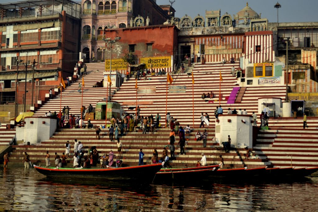 Ghat (Photo by Mukund Prabhakar)