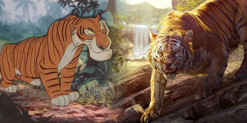 How 'The Jungle Book' films differ from the books
