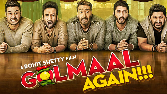 Movie Review: Golmaal Again – A Rohit Shetty film without flying cars