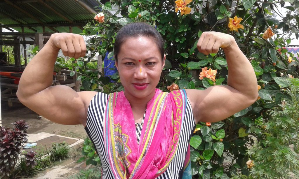 T. Sarita Posing