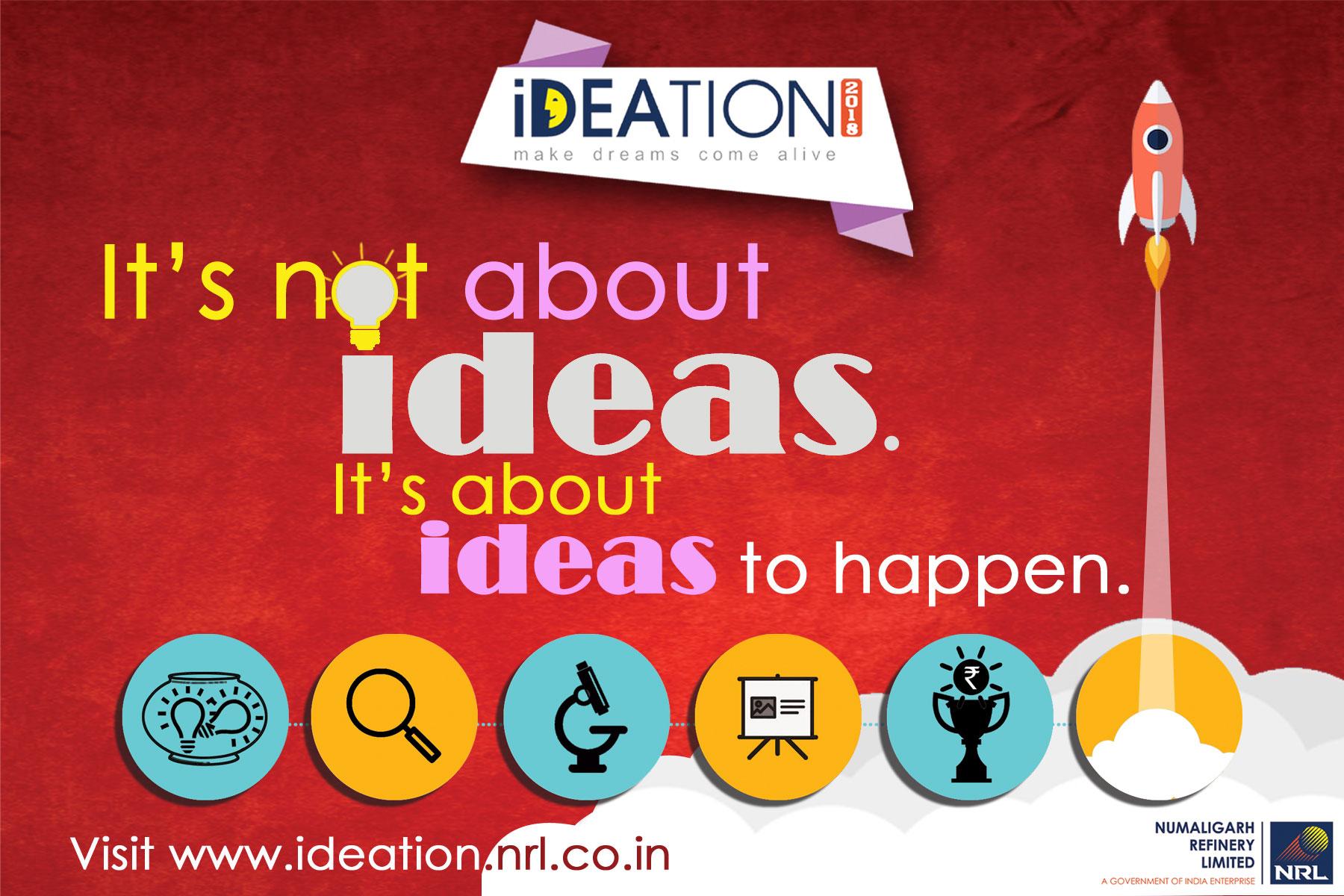 Promoting Startups in Assam – NRL Ideation 2018